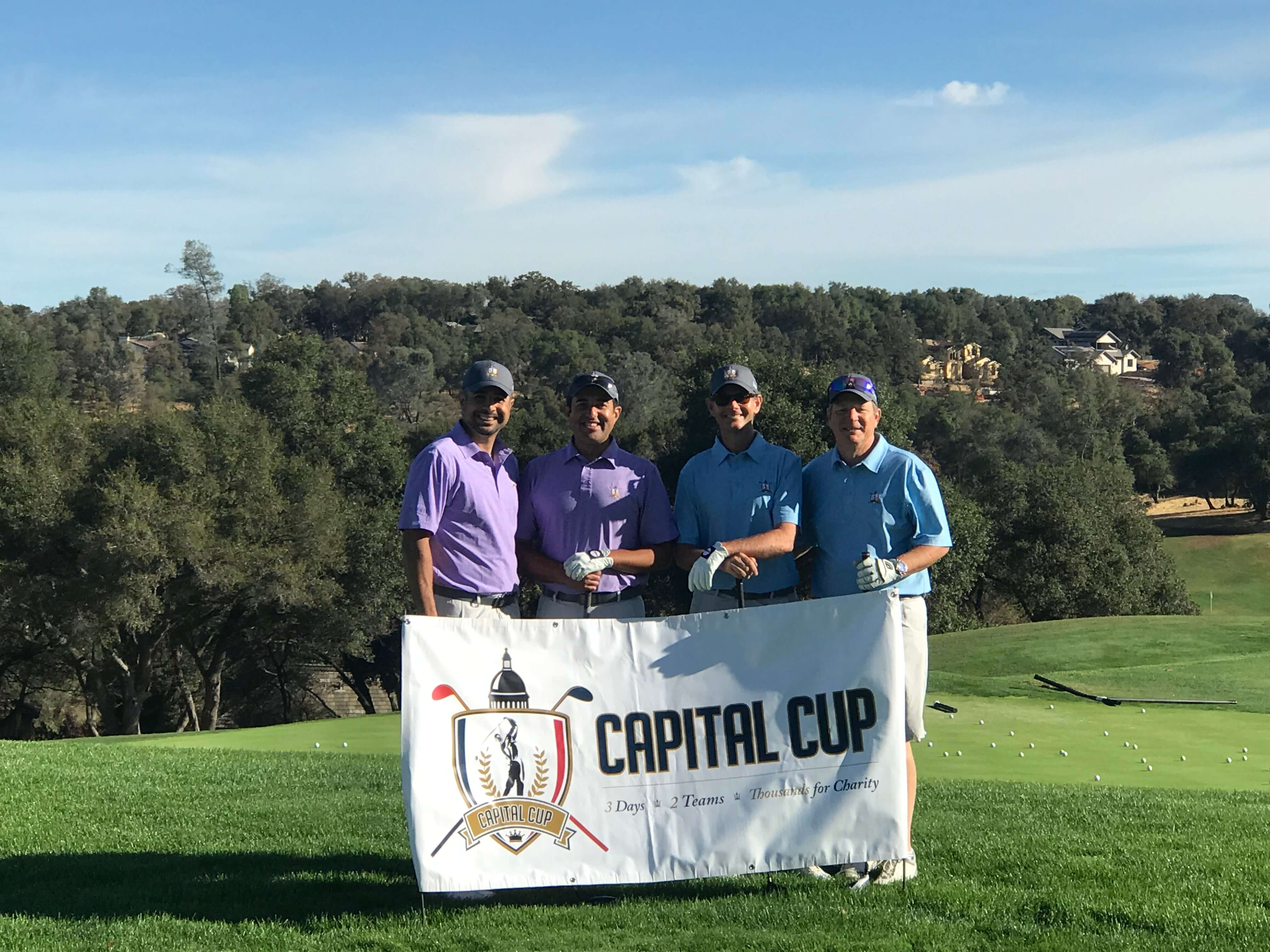 Capital Cup golfers