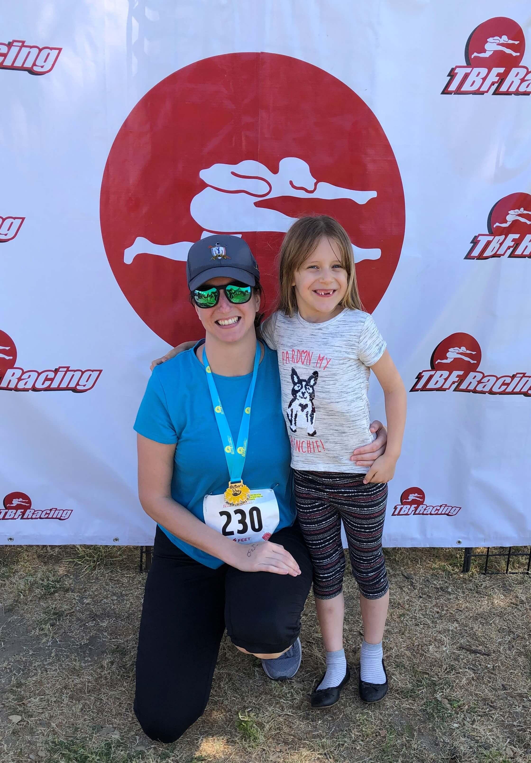 Amanda and daughter