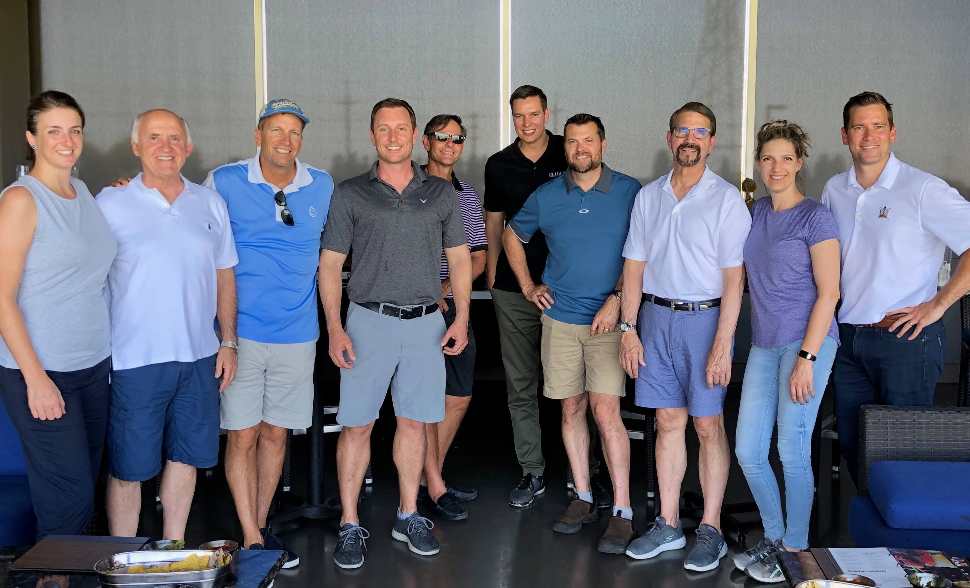 The DCA team at Topgolf